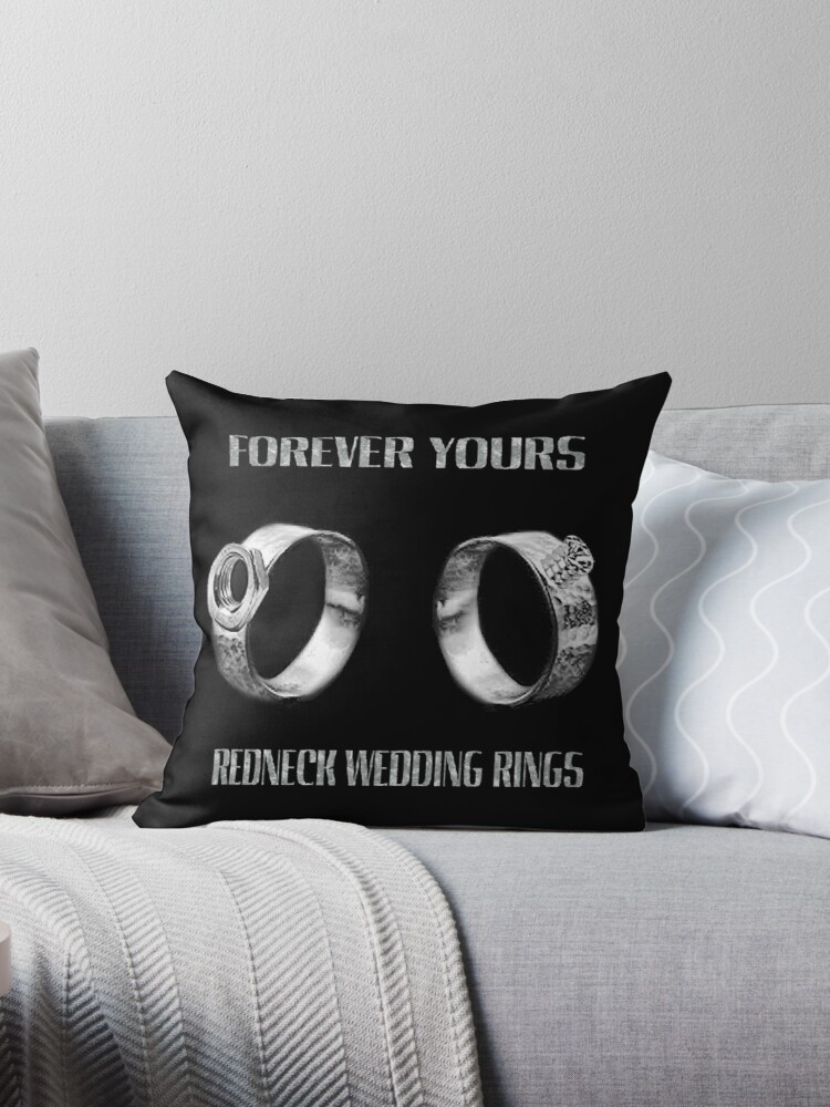 Forever Yours Fun Unique Redneck Wedding Ringsavailable