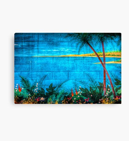 Concrete Paradise Canvas Print