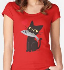 GET! Women's Fitted Scoop T-Shirt