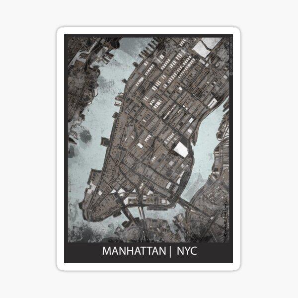 Manhattan, NYC Sticker