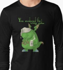 CTHULHU WOKE UP Long Sleeve T-Shirt