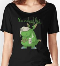 CTHULHU WOKE UP Women's Relaxed Fit T-Shirt
