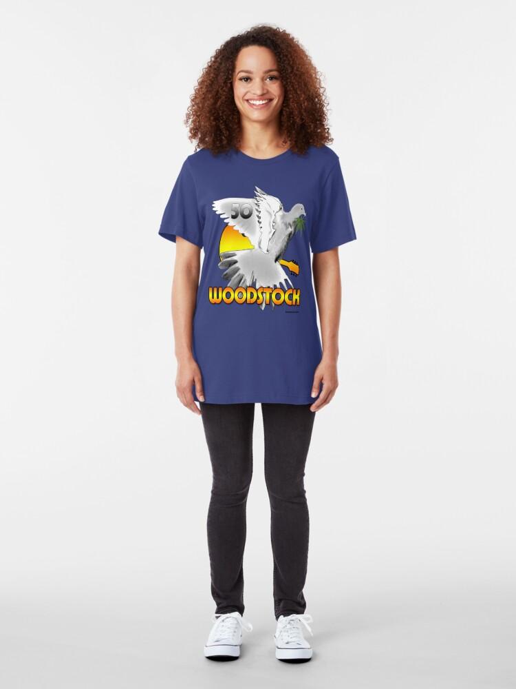 Alternate view of Woodstock 2019 Slim Fit T-Shirt