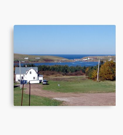 Bay St. Lawrence Canvas Print