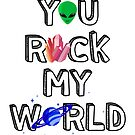 You Rock My World by thekasen