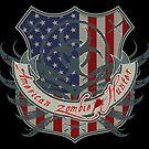 American Zombie Hunter shield by puppaluppa