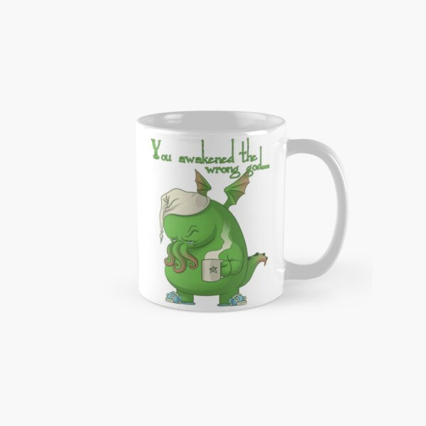 CTHULHU WOKE UP Classic Mug