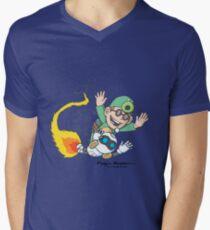Blast Off Men's V-Neck T-Shirt