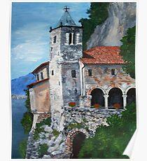 Santuario di Santa Caterina del Sasso Poster