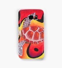 Red Turtle Teddie Samsung Galaxy Case/Skin