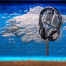 Cloudy with a Chance of Microphone by Bob Larson
