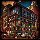 Intersection of Canal & Center Streets, NYC, USA by Chris Lord