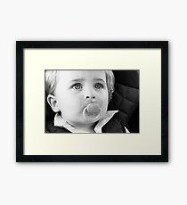 Binky Boy Framed Print