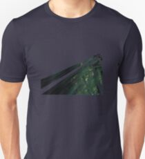 Forest Moon Trees Speeder Chase VI 1980 - Retro Logo T-Shirt Slim Fit T-Shirt