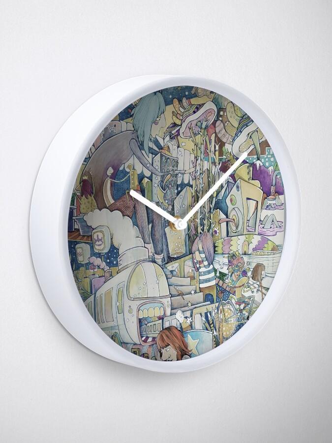 Alternate view of Tongues Clock