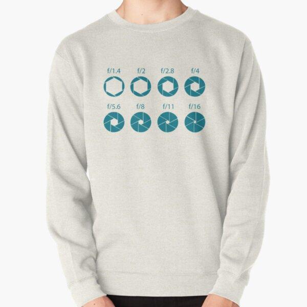 F-Stops-Teal Pullover Sweatshirt