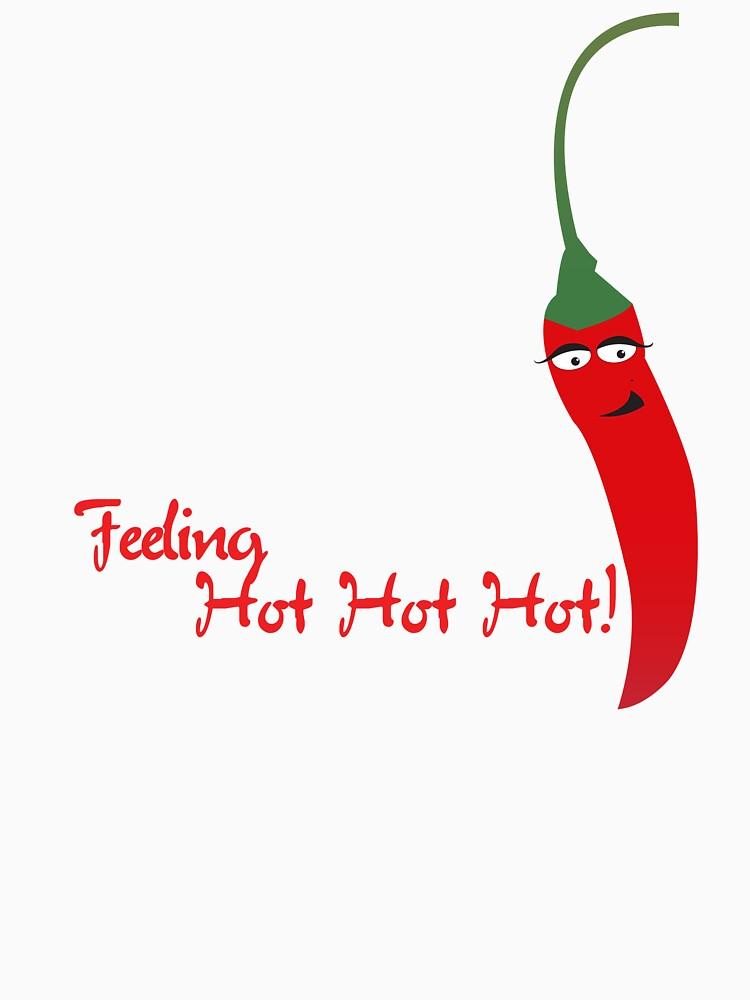 Feeling Hot Hot Hot | Women's T-Shirt