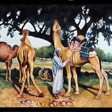 Camels by joannaalmasude