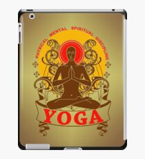 Yoga : Physical Mental Spiritual Discipline  iPad Case/Skin
