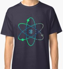Science ATOM symbol Classic T-Shirt