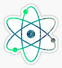 Science ATOM symbol Sticker