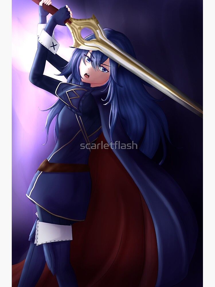 Lucina | Fire Emblem Awakening by scarletflash