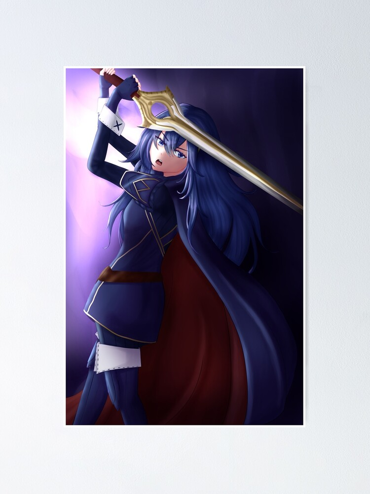 Alternate view of Lucina | Fire Emblem Awakening Poster