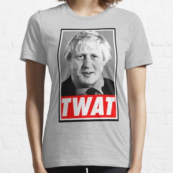 Boris Johnson Twat Essential T-Shirt