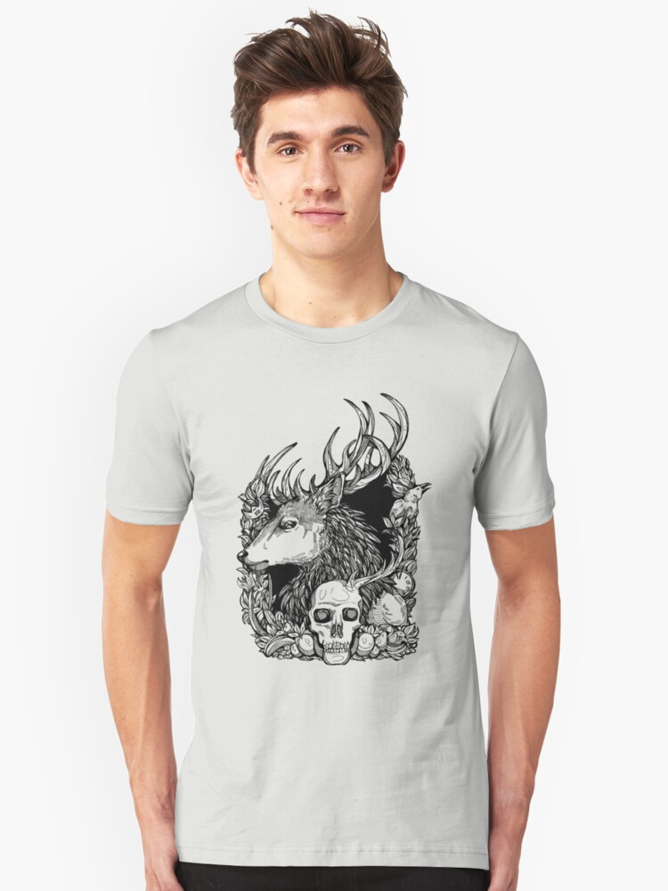 Eat the rude Unisex T-Shirt Front
