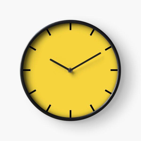 Yellow Clock  Clock
