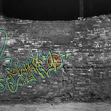 Graffiti Wall by jimmyjimjames