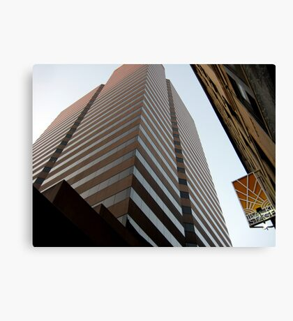 Cinci Bank Building Canvas Print