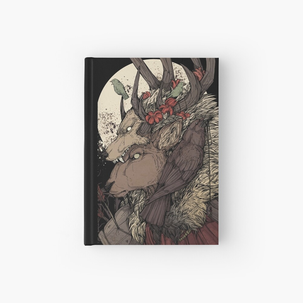 The Elk King Hardcover Journal