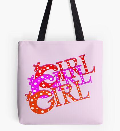 Not So Girly Girly Tote Bag