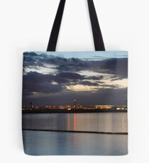 Sydney Airport Dusk Takeoff Tote Bag