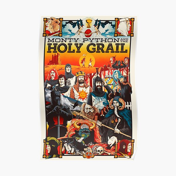 The Holy Grail Poster