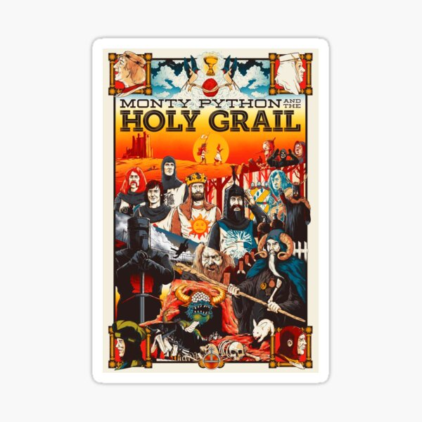 The Holy Grail Sticker