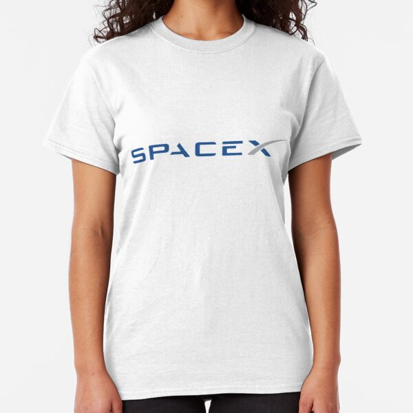 SpaceX T Shirt Elon Musk Tee Nasa Tesla Falcon Space Agency Joint Space X Top
