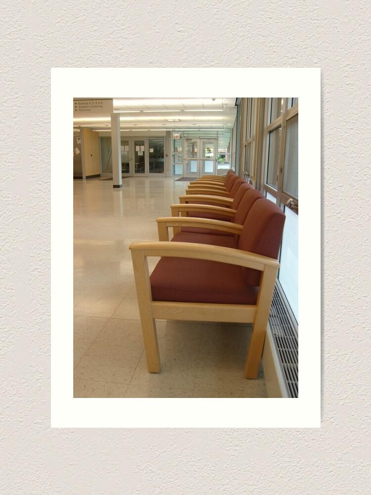 Alternate view of Chairs Art Print