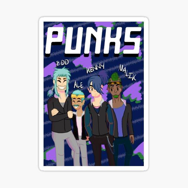 Punks - Grunge Sticker