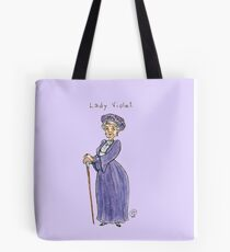 Lady Violet Tote Bag