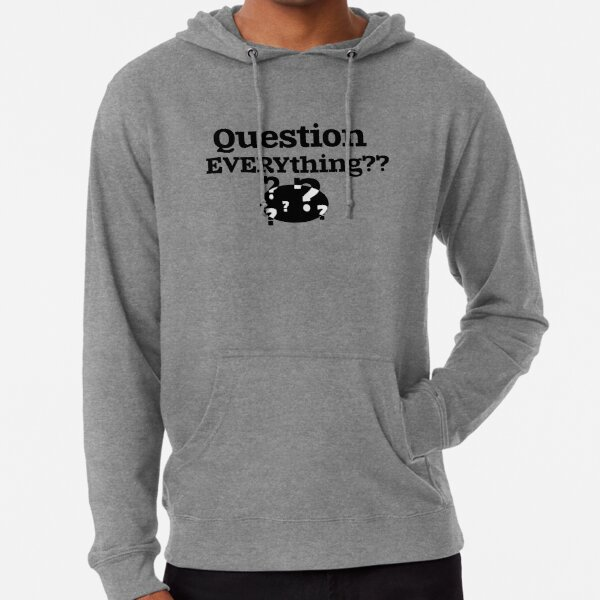 Question EVERYthing?? Lightweight Hoodie