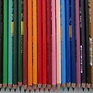 Colored Pencils by Richard-Gary Butler