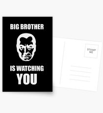 Big Brother is Watching You Postcards
