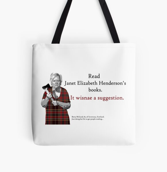 Betty's Brigade Bag All Over Print Tote Bag