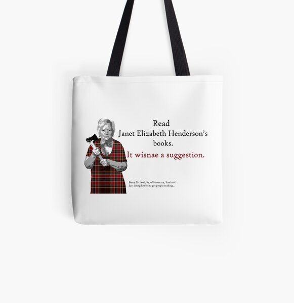 Betty's Brigade Bag All Over Print Tote Bag