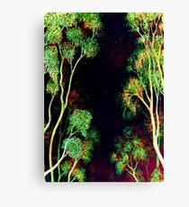 Trees - Nightfall Canvas Print