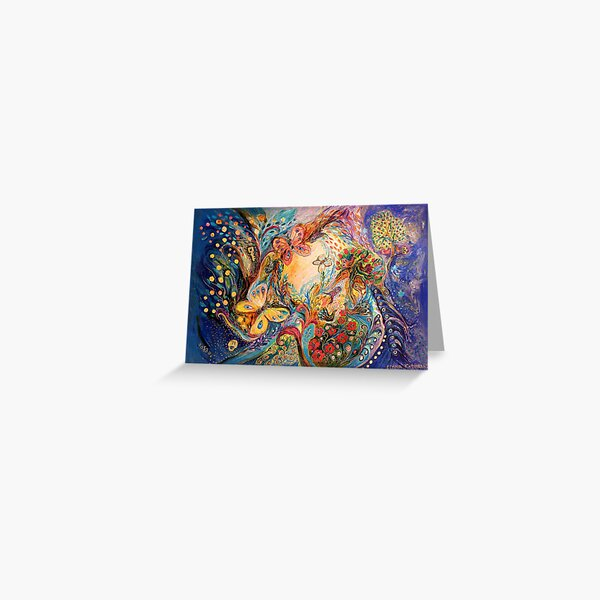 The Melancholy for Chagall  Greeting Card