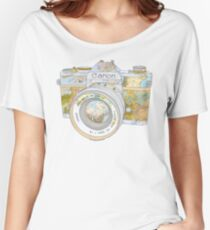 TRAVEL CAN0N Women's Relaxed Fit T-Shirt