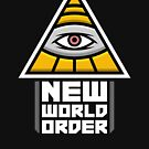 New World Order Illuminati Eye by unluckydevil